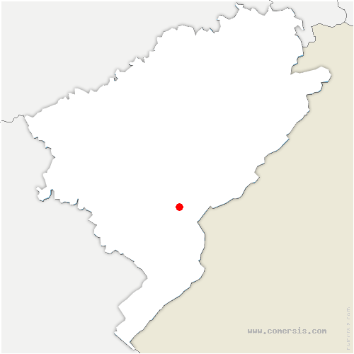 carte de localisation de Vuillecin
