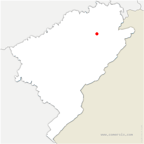 carte de localisation de Vyt-lès-Belvoir
