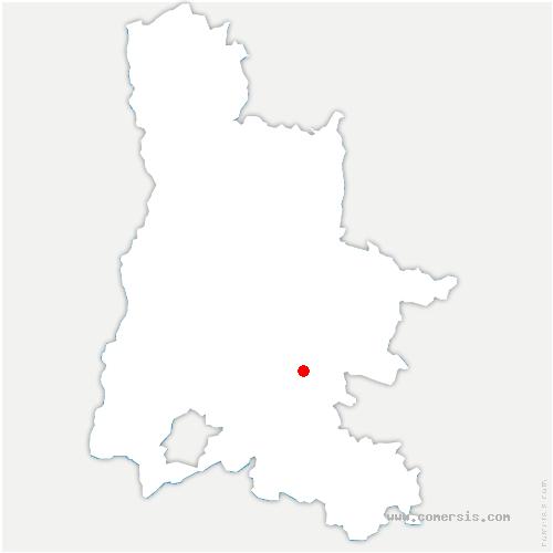 carte de localisation de Arnayon