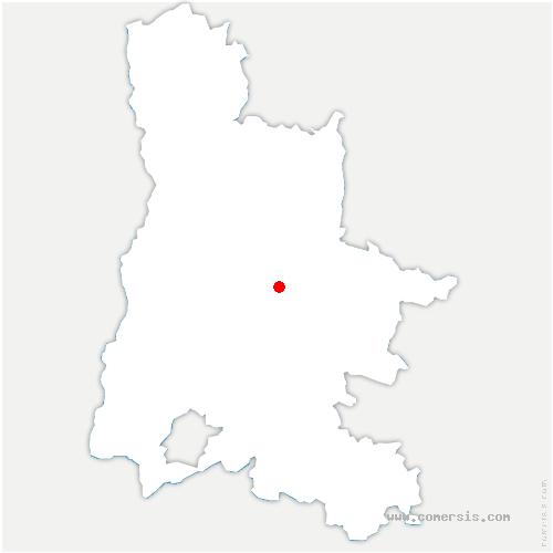 carte de localisation de Aurel