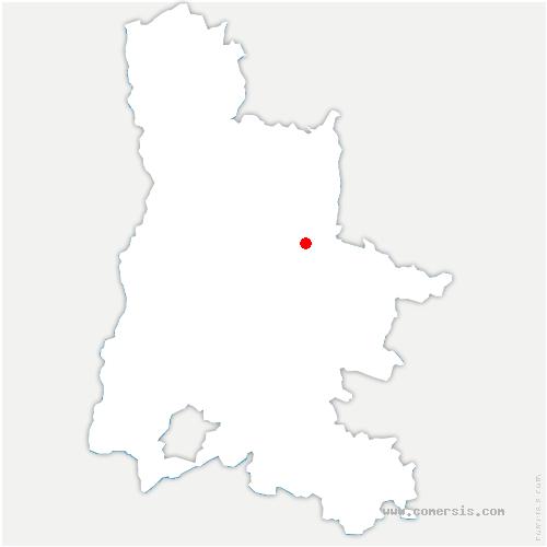 carte de localisation de Chamaloc