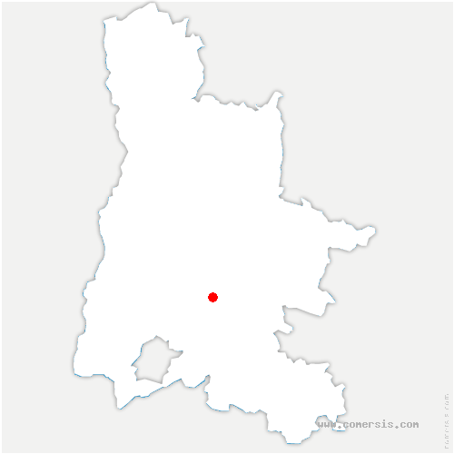 carte de localisation de Crupies