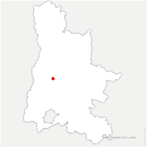 carte de localisation de Divajeu
