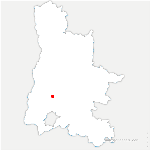 carte de localisation de Eyzahut