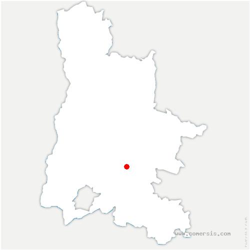 carte de localisation de Gumiane