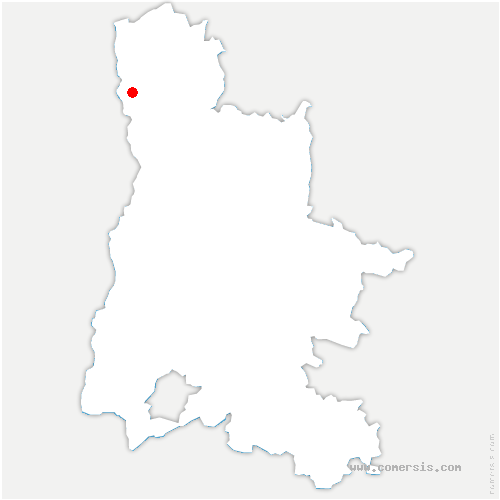 carte de localisation de Larnage