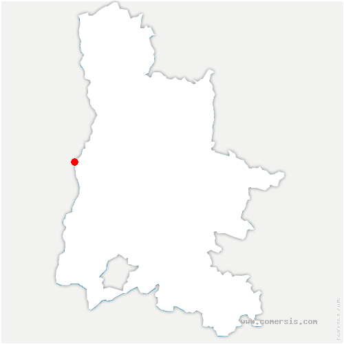 carte de localisation de Livron-sur-Drôme