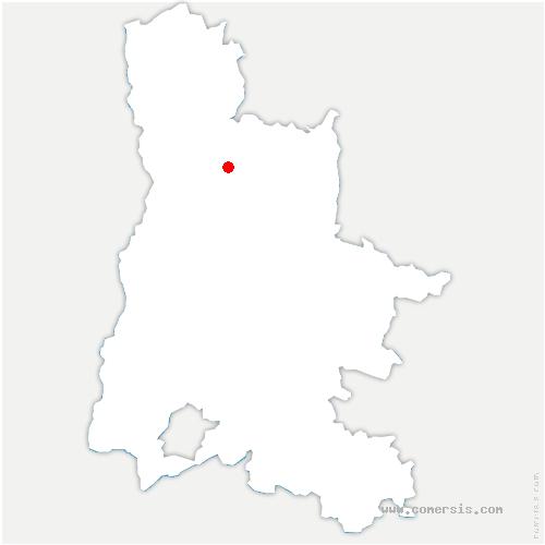 carte de localisation de Marches