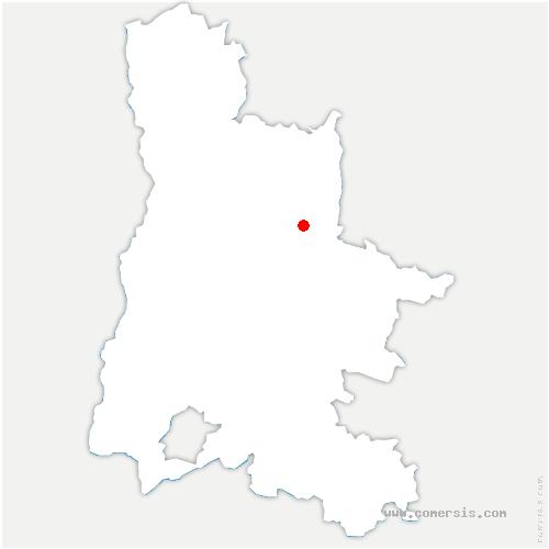 carte de localisation de Marignac-en-Diois