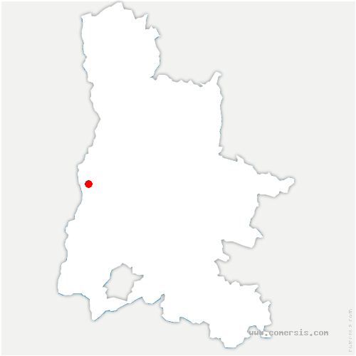 carte de localisation de Mirmande