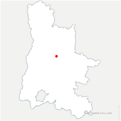 carte de localisation de Montclar-sur-Gervanne