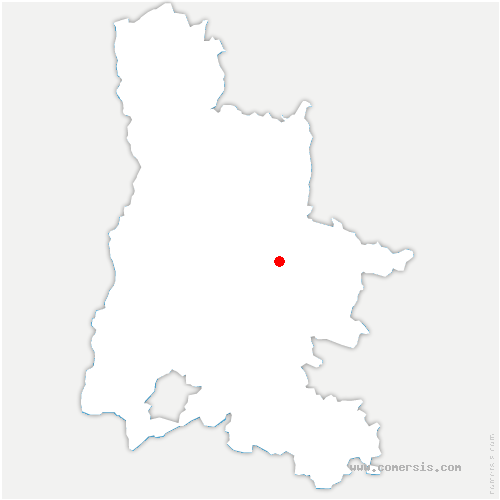 carte de localisation de Montmaur-en-Diois