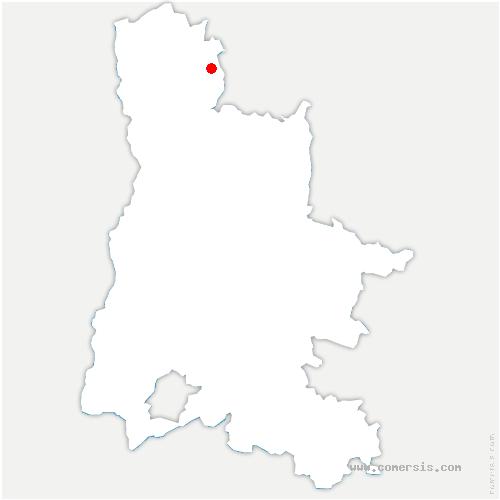 carte de localisation de Montmiral