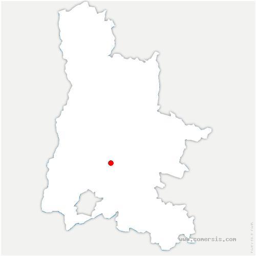 carte de localisation de Orcinas