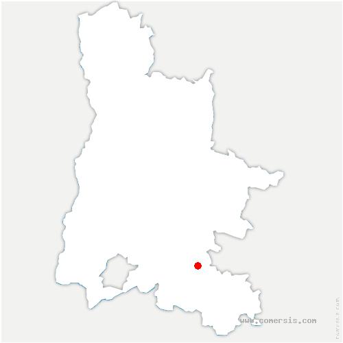 carte de localisation de Pelonne
