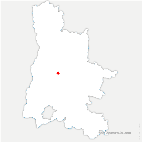 carte de localisation de Piégros-la-Clastre