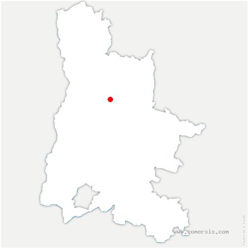carte de localisation de Plan-de-Baix