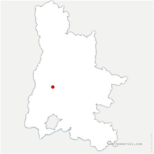 carte de localisation de Puy-Saint-Martin