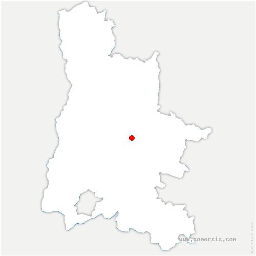carte de localisation de Saint-Benoit-en-Diois