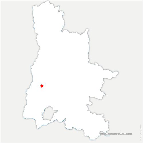 carte de localisation de Saint-Gervais-sur-Roubion