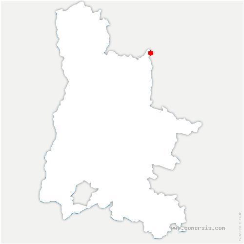 carte de localisation de Saint-Julien-en-Vercors