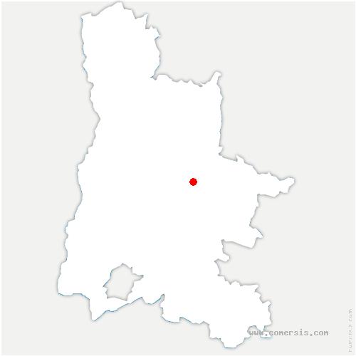 carte de localisation de Solaure-en-Diois