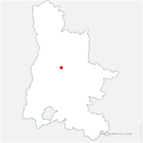 carte de localisation de Suze