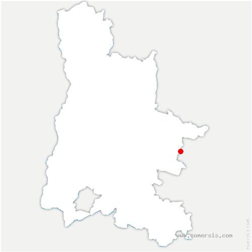 carte de localisation de Val-Maravel