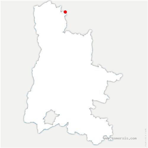 carte de localisation de Valherbasse