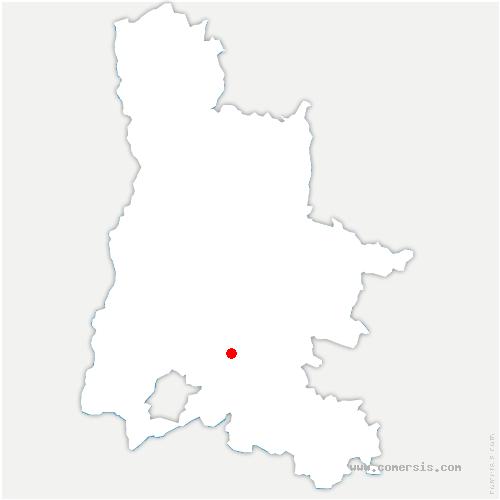 carte de localisation de Valouse