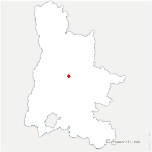 carte de localisation de Véronne