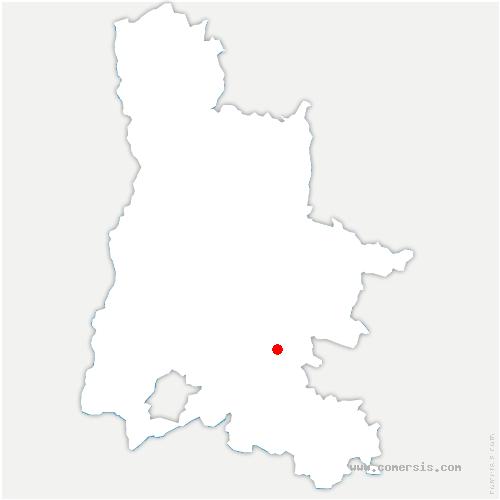carte de localisation de Villeperdrix
