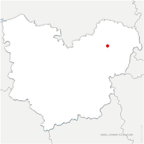 carte de localisation de Andelys