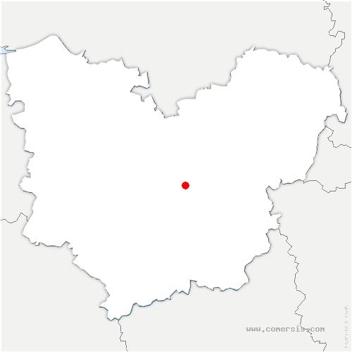 carte de localisation de Aviron