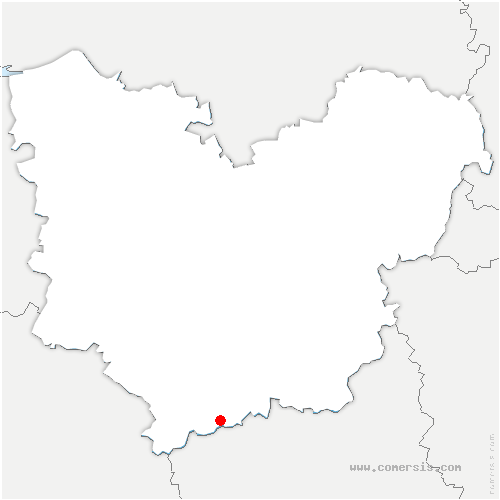 carte de localisation de Bâlines