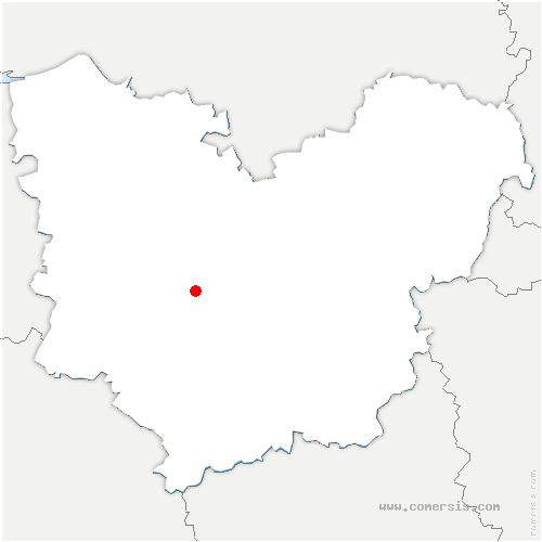 carte de localisation de Barquet