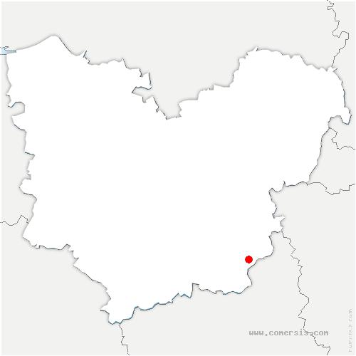 carte de localisation de Bois-le-Roi
