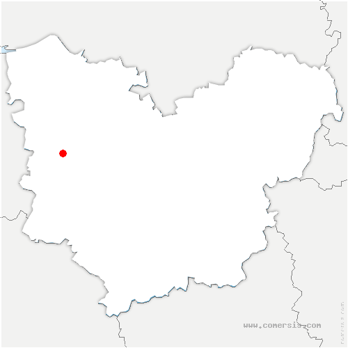 carte de localisation de Boissy-Lamberville