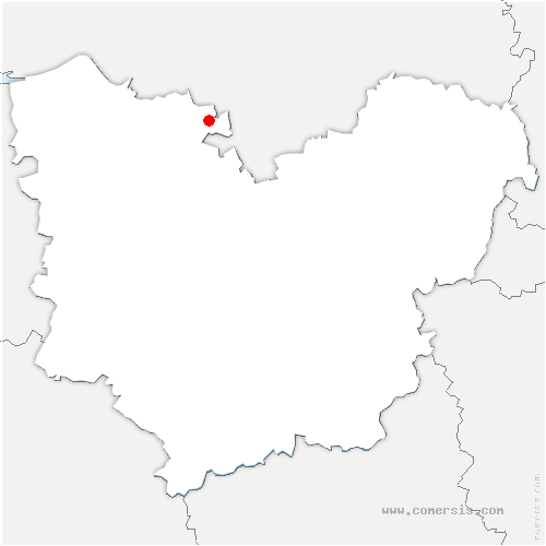 carte de localisation de Bosgouet