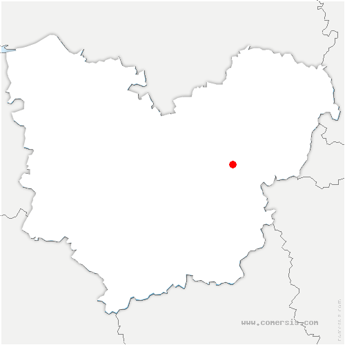 carte de localisation de Champenard