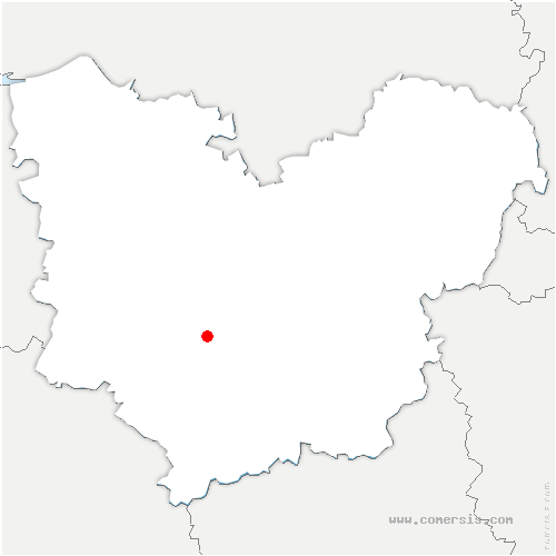 carte de localisation de Collandres-Quincarnon