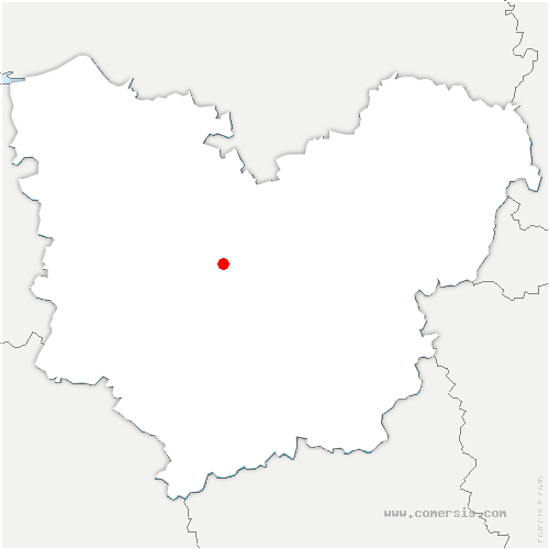 carte de localisation de Combon