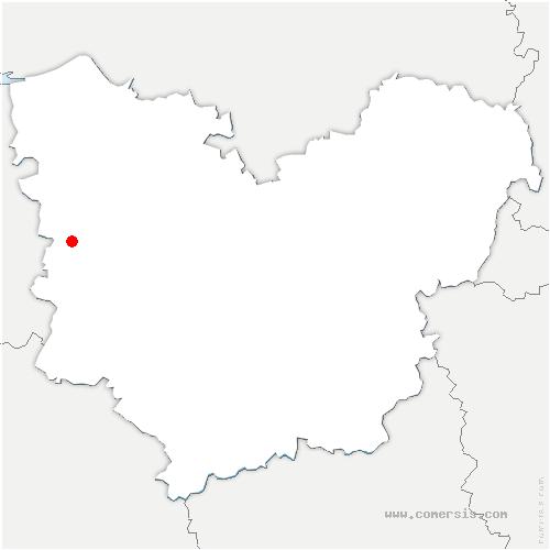 carte de localisation de Duranville