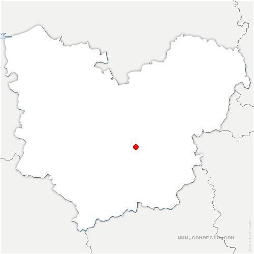 carte de localisation de Évreux