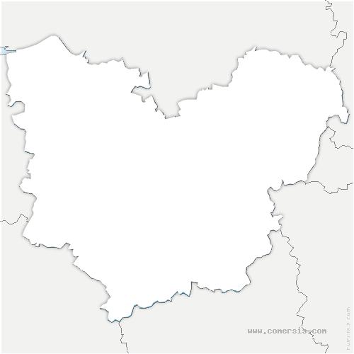 carte de localisation de Ferrière-sur-Risle
