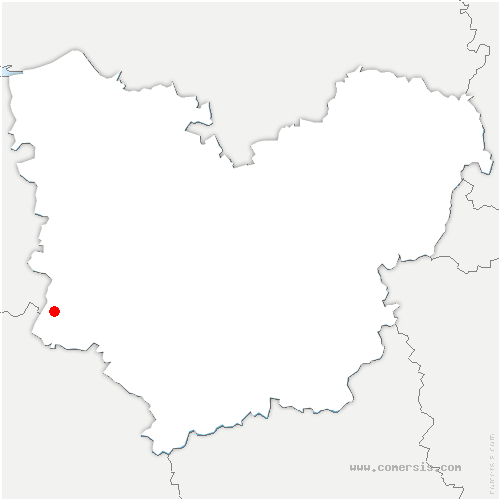 carte de localisation de Goulafrière