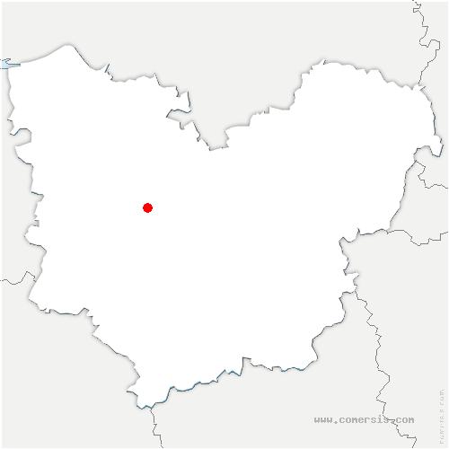 carte de localisation de Goupil-Othon