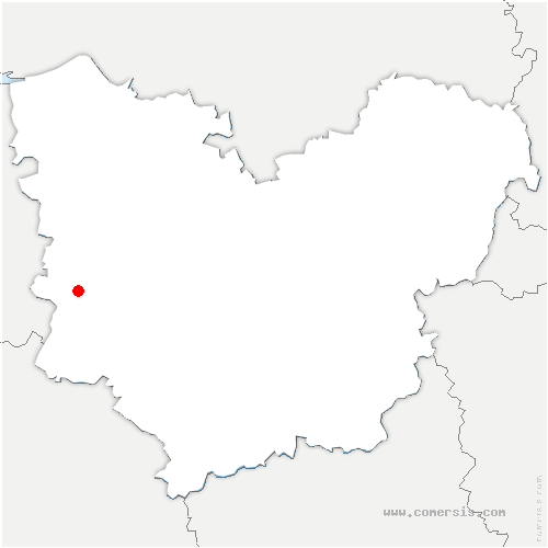 carte de localisation de Grand-Camp
