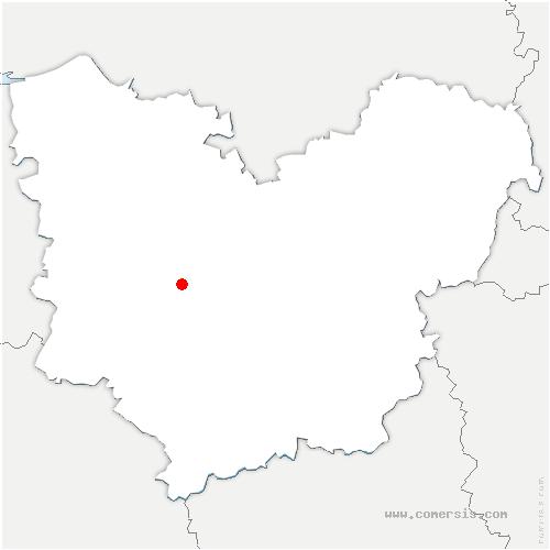 carte de localisation de Grosley-sur-Risle