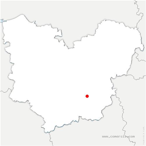 carte de localisation de Grossœuvre